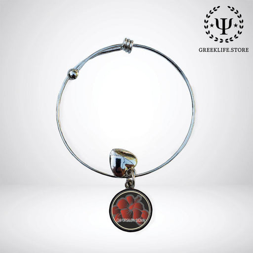 Chi Upsilon Sigma Round Adjustable Bracelet - greeklife.store