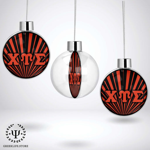Chi Upsilon Sigma Christmas Ornament - Ball - greeklife.store