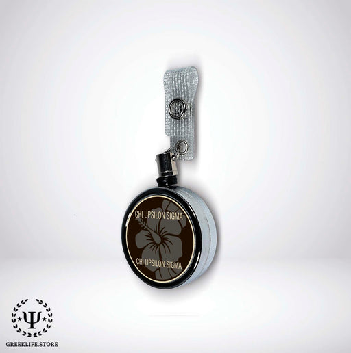 Chi Upsilon Sigma Badge Reel Holder - greeklife.store