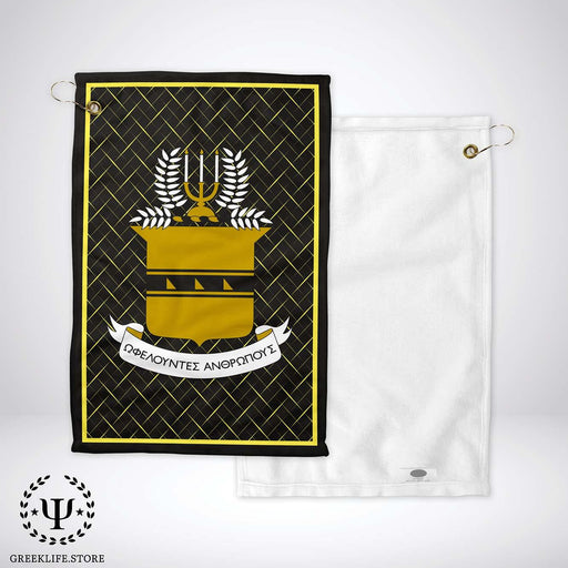 Acacia Fraternity Golf Towel - greeklife.store