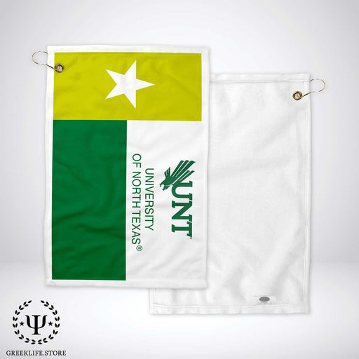 University of North Texas Golf Towel - greeklife.store