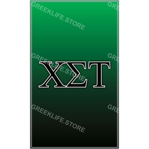 Chi Sigma Tau Decal  Sticker - greeklife.store