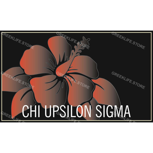 Chi Upsilon Sigma Decal Sticker - greeklife.store