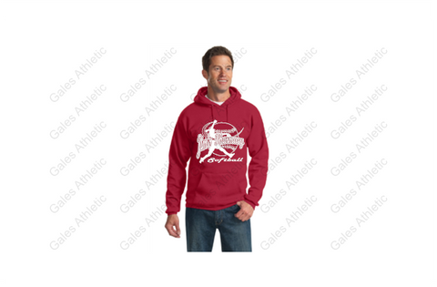 JIM'S PHARMACY Softball Standard Weave Sweatshirt