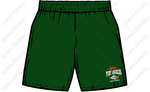 PORT ANGELES BOYS BASKETBALL Dark Green Shorts