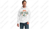 PORT ANGELES BOYS BASKETBALL Hooded Sweat Shirt (STANDARD WEAVE)