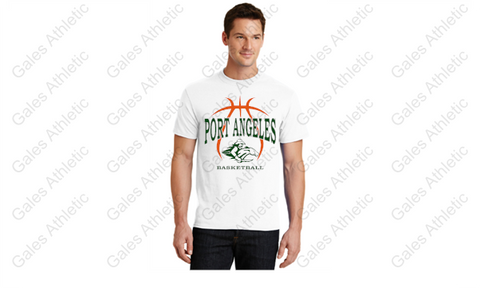 PORT ANGELES BOYS BASKETBALL 50/50 T-Shirt