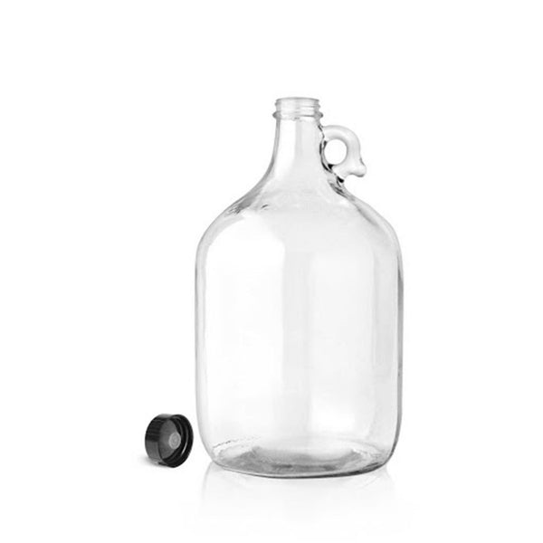 One Gallon Clear Jug with Phenolic PolyCone Cap