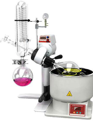 Ai SolventVap 0.5-Gallon/2L Rotary Evaporator with Manual Lift