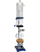 Across International T1 Glass Vacuum Cold Trap for Safe Vacuum Operations