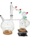 Across International 5 Liter Short Path Glassware Set