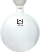 Across International 35/20 Heavy Wall 1000mL Round Bottom Receiving Flask