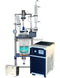 Ai 10L Single/Dual Jacketed Glass Reactor w/ Chiller & Pump