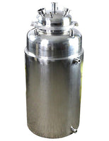 20LB Jacketed Stainless Steel Collection Base with Drain Port