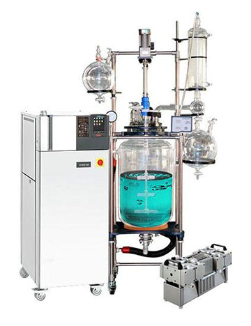 Ai R Series 100L Single Jacketed Reactor with Chiller & Pump