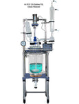 Ai 10L Single/Dual Jacketed Glass Reactor