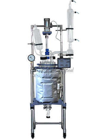 Ai 20L Single/Dual Jacketed Glass Reactor
