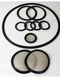5LB Athena Bidirectional CLS Rack Gasket Set