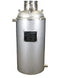 ASME Certified #120 Jacketed Collection Base 304L - Bare (58lb Butane Capacity)