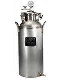 ASME Certified #120 Jacketed Collection Base 304L with Diptube (58lb Butane Capacity)