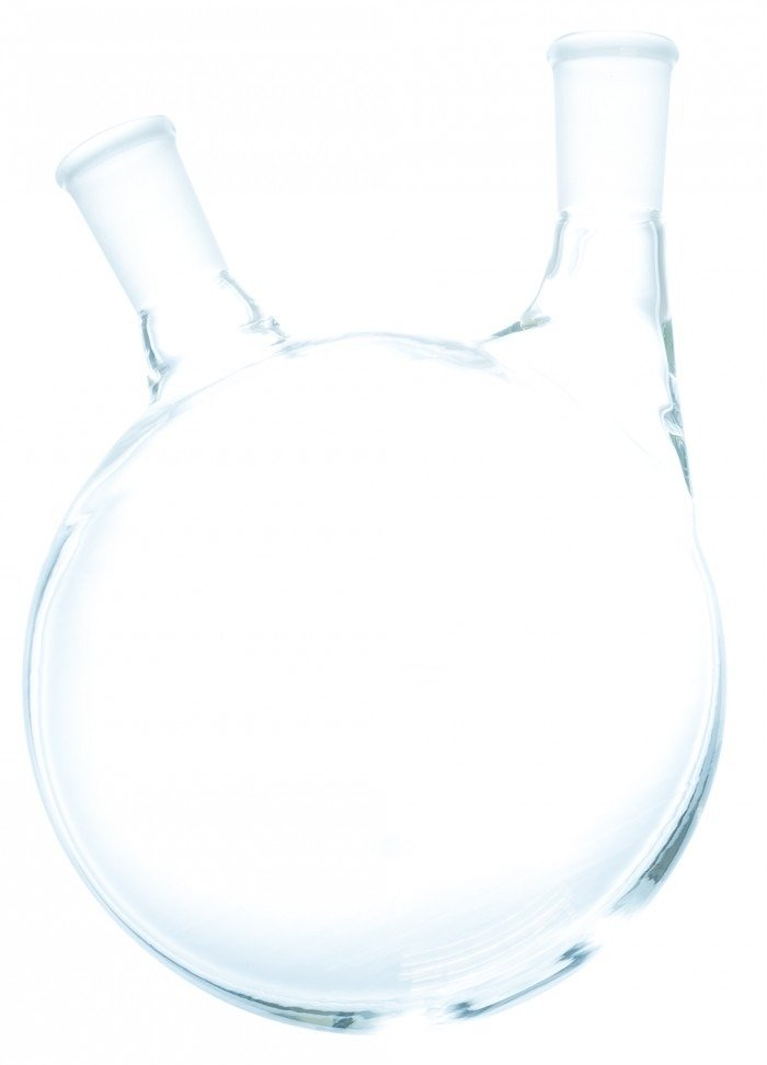 2 Neck Offset Round Heavy Wall Bottom Flask