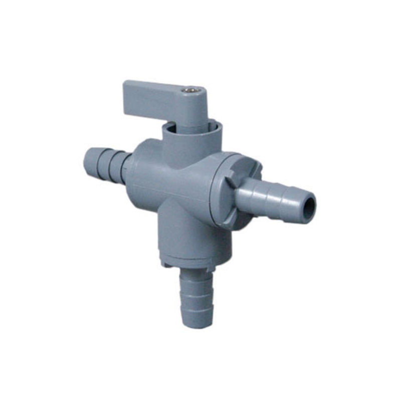 Three-Way Ball Valve with Viton Seals