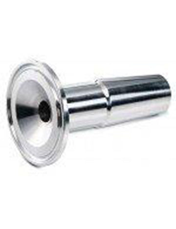 "Stainless Steel 24/40 x 1.5"" Tri-Clamp Adapter"