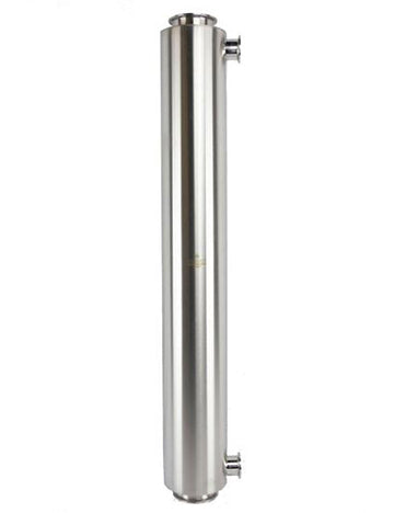 Fully Jacketed Dewaxing Column with Triclamp connection 900 Grams