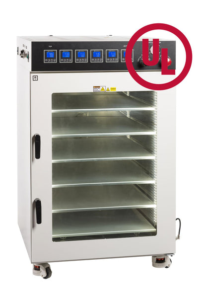 Across International UL/CSA Certified 16 CF Vacuum Oven w/ 6 Shelves & SST Tubing