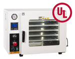 Across International 1.9 CF Vacuum Oven 5 Sided Heat, All St. St. Tubing With EasyVac 9 CFM Dual-Stage Pump.