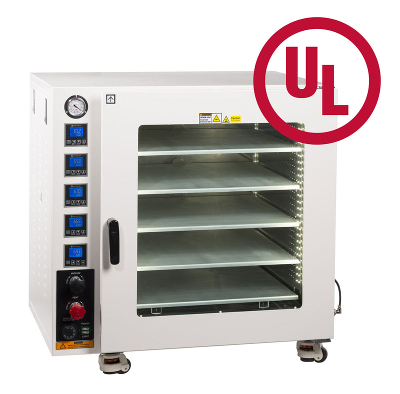 Across International UL/CSA Certified 7.5 CF 480°F Vacuum Oven with All SST Tubing