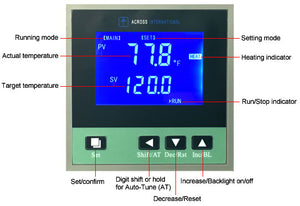 3rd Gen Low Gain LCD Controller for Ai AccuTemp Vacuum Ovens