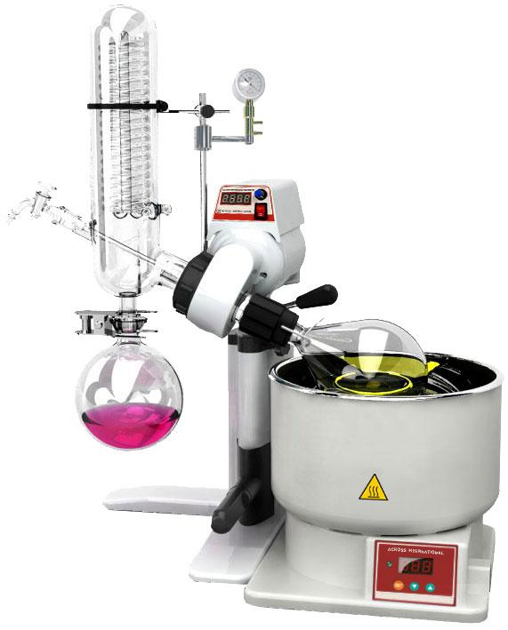 Ai SolventVap 0.5-Gallon/2L Rotary Evaporator with Manual Lift 110v 60hz