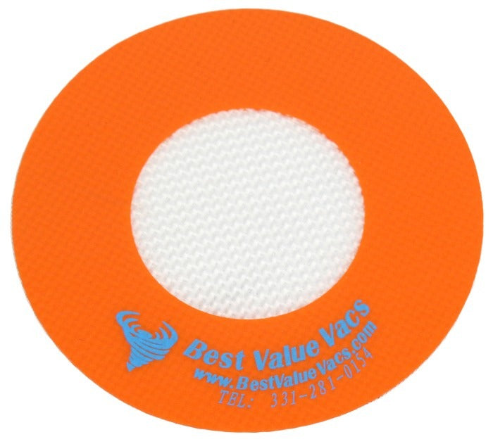 "4"" Diameter Platinum Cured Silicone Vac Pad"
