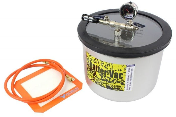 SVac 3 Gallon Wide Stainless Steel Vacuum Chamber