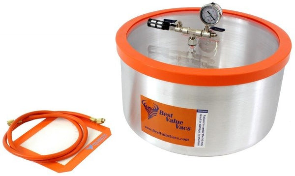 Best Value Vacs 7 Gallon Aluminum Vacuum and Degassing Chamber