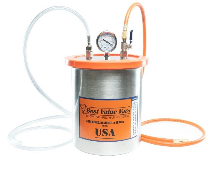 1.5 Gallon Resin Trap Vacuum Chamber