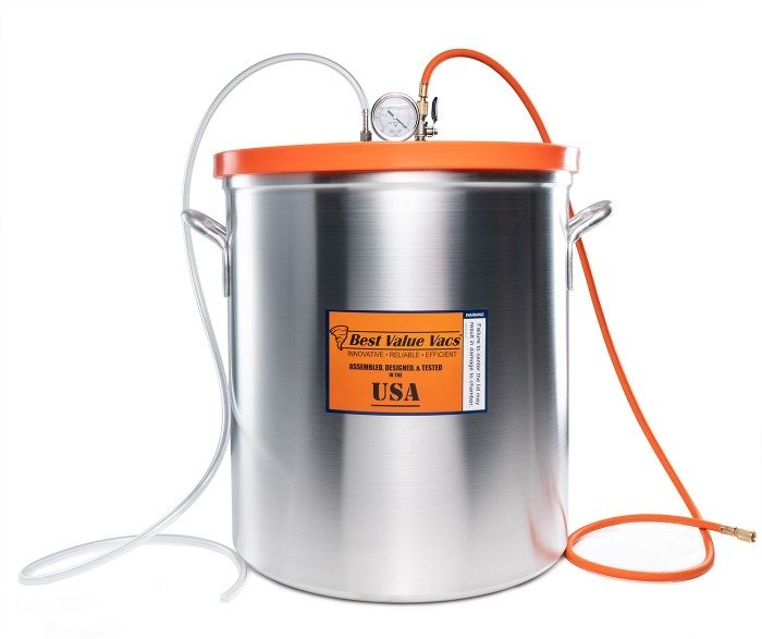 15 Gallon Resin Trap Vacuum Chamber