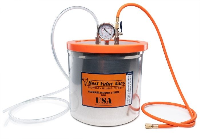 3 Gallon Resin Trap Vacuum Chamber