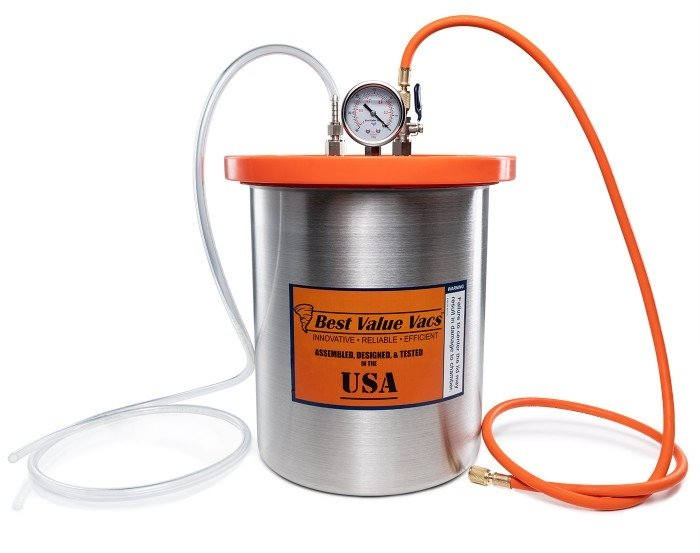 3 Gallon Stainless Steel Resin Trap Vacuum Chamber