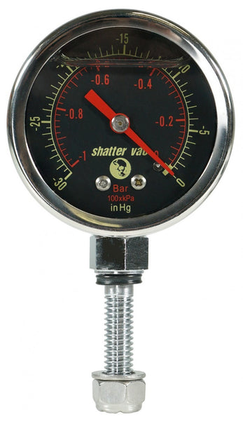 SVac Glycerine Filled Vacuum Gauge for our Chamber Lids Only
