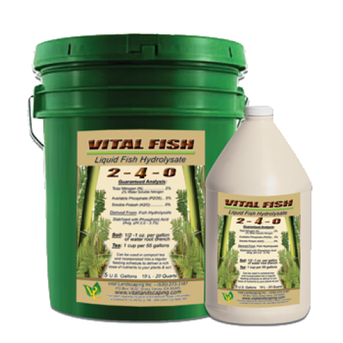 Vital Fish Hydrolysate Liquid Fish Fertilizer, Gallon