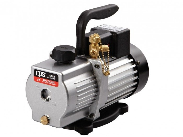 CPS 6CFM Single Stage Vacuum Pump