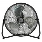 Hurricane Pro High Velocity Metal Floor Fan