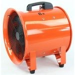 "16"" Ignition Resistant Axial Fan w/ Ducting"
