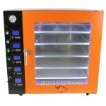 7.5CF BVV Vacuum Oven - LCD Display and LED's - 5 Individually Heated Shelves