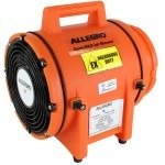 "Allegro Blowers 8"" Plastic Explosion-Proof Ventilation Fan Compact Axial Blower"