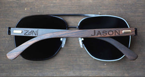 Wood Sunglasses // TROOPER