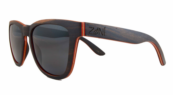 Skateboard Wood Sunglasses // BENIHANA