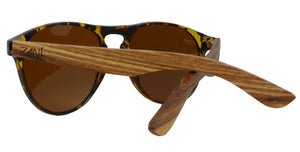 Zebra Wood Sunglasses // Canopy